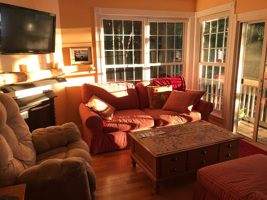 Living Room at Sunrise