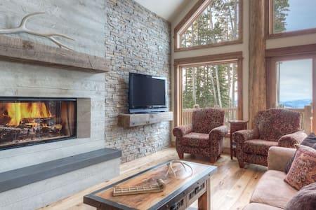 4 bed/3 bath w/ loft- Big House/Views. Ski Access! - 빅스카이(Big Sky)