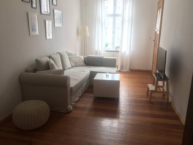 Cozy Living Room with sleeping couch