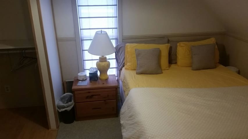 Cozy upstairs apartment downtown - Traverse City - Appartement