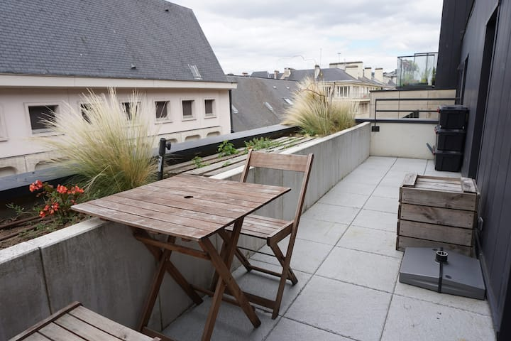 Appartement hyper centre ville Rouen Cathédrale