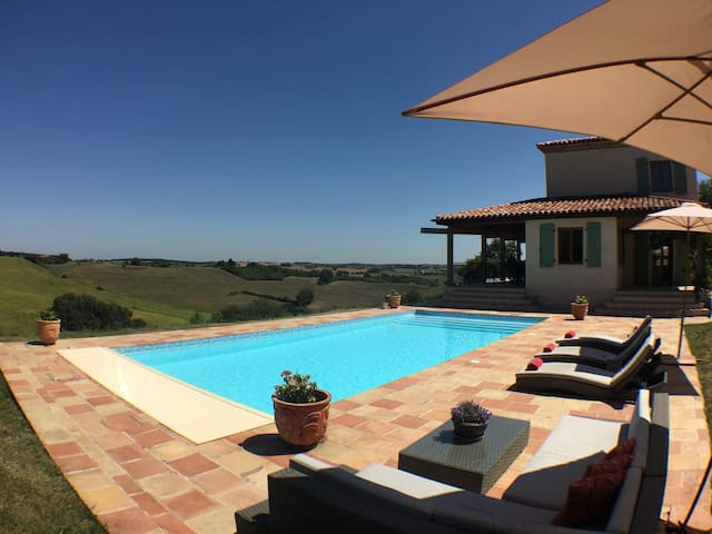 Sojourn - Idyllic countryside retreat with pool - Cazac - Talo