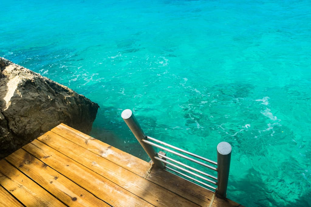 Ocean access from your own patio