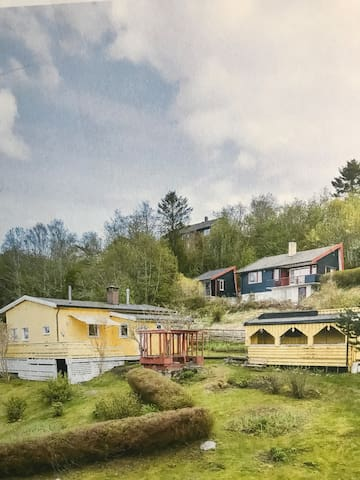 Privat rom - 1 i cottage near Trondheim