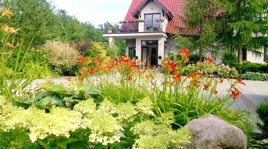 Villa Orlik w parku krajobrazowym. - Płonno - 別荘