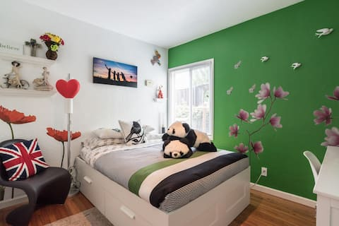 [NEW] Sweet Private Room (Green)