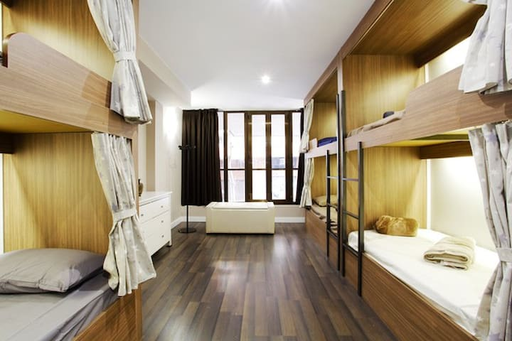 Barcelona&You 1Bed/12 Beds dorm.