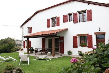 Gîte Harrieta (183m² 4 chambres) - Irissarry