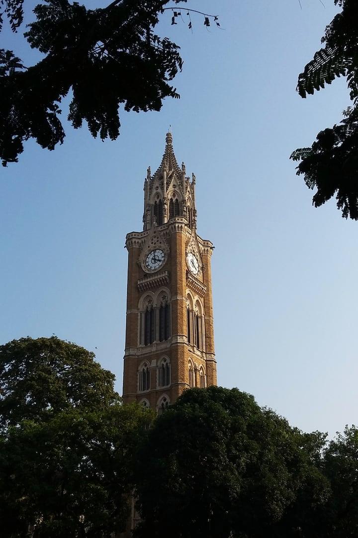 Rajabai Tower.
