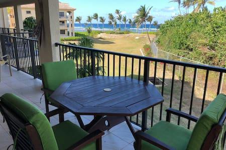 Delux Pelican Cove Ocean Front 2 bed/2 bath condo
