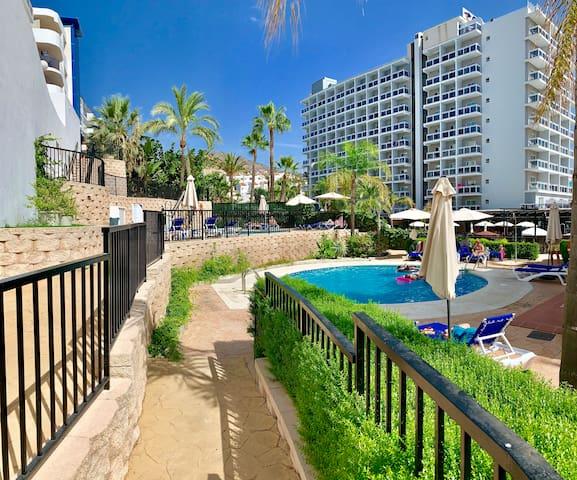 Apartamento Rocío Wifi,Playa. Benalmádena Costa