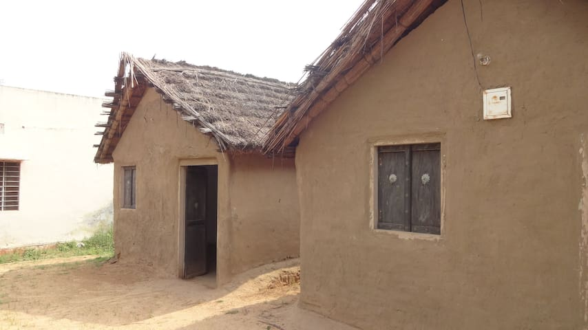 Sustainable living at a Farm Stay near Jaipur - 齋浦爾 - 小屋