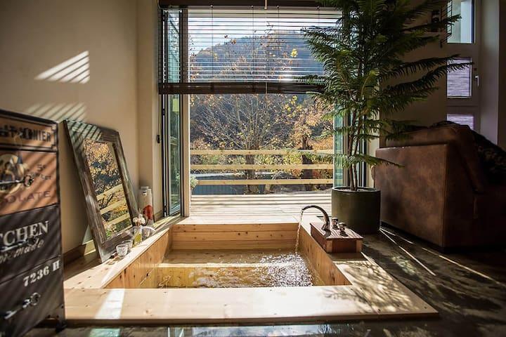 Sisilri Romantic Garden - 성주군 - Huis