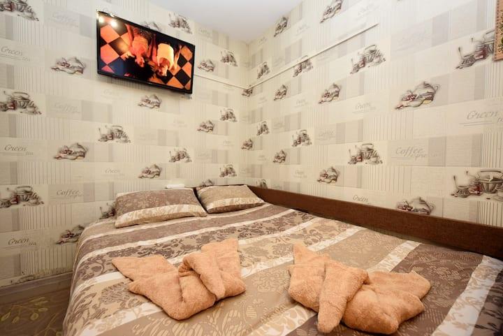 Уютные апартаменты в центре Борисполя 10 мин к а/п