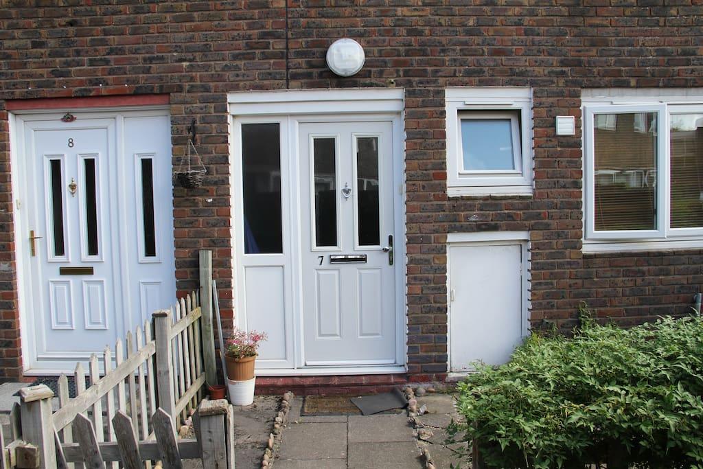 Front Door number 7