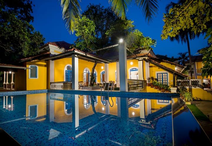 ❤️Luxurious n' private 4BHK Villa in Goa❤️