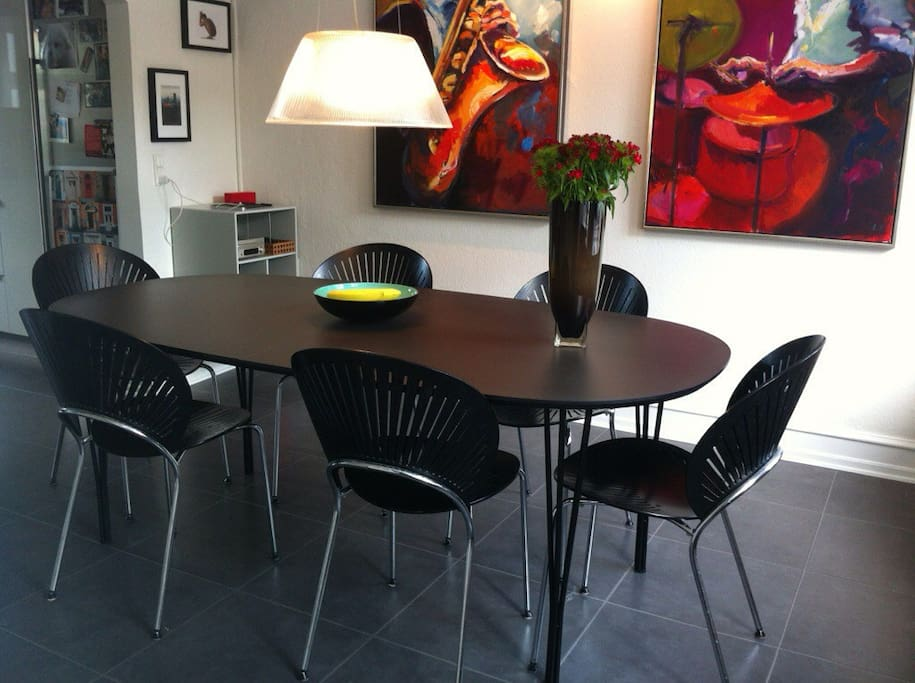 Diningroom with Nanna Dietzel chairs