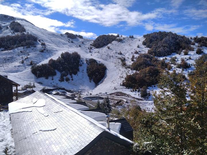 Chalet 1,  vue panoramique sur la montagne/station