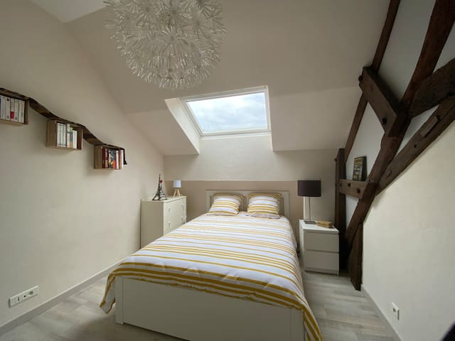 Chambre 2 lit 140