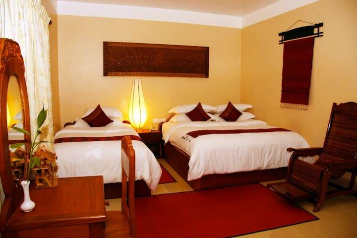 Cozy Triple Room in Angkor - Krong Siem Reap - Daire