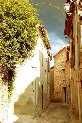 Characterful Stone Village House - Caunes-Minervois