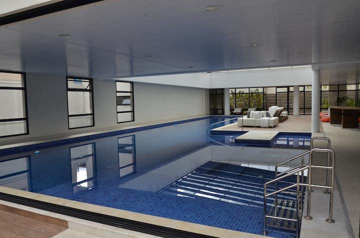 Luxury flat with 5* amenities