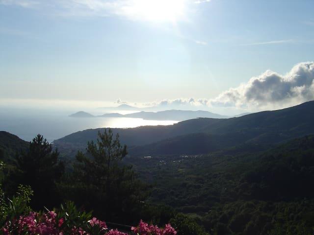 Appartamento panoramico a Marciana, Isola d'Elba - Marciana - Byt