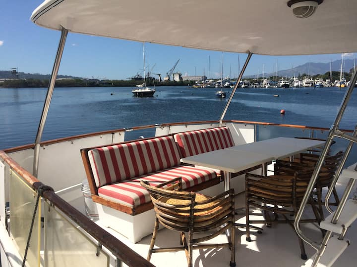 Ever slept in a yacht in Subic?
