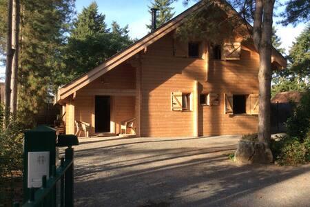 Ma maison de bois cosy et spa - Bray-en-Val - Chalet
