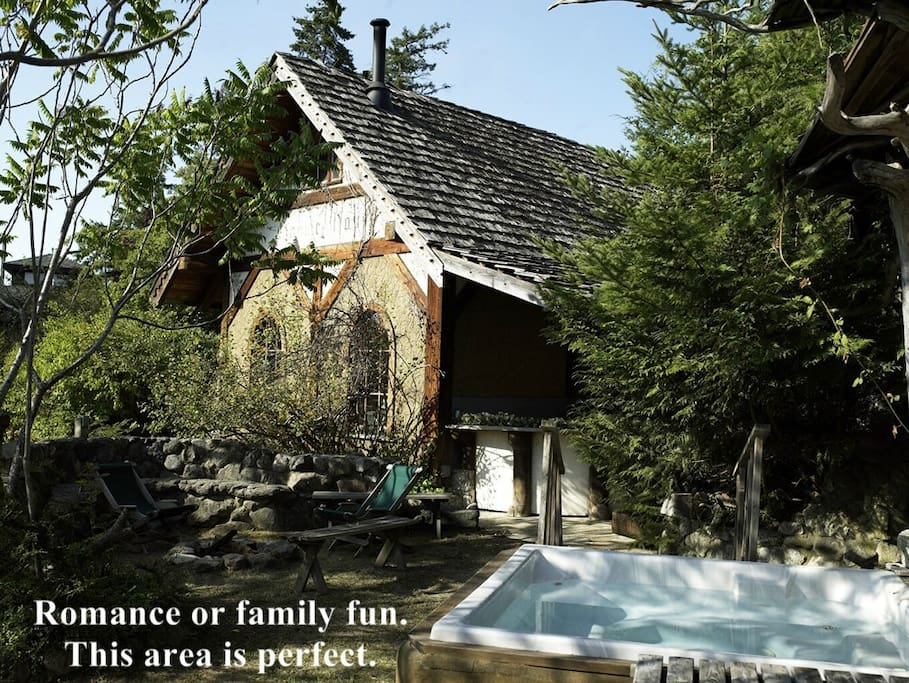 Romance or family fun, this area is perfect!