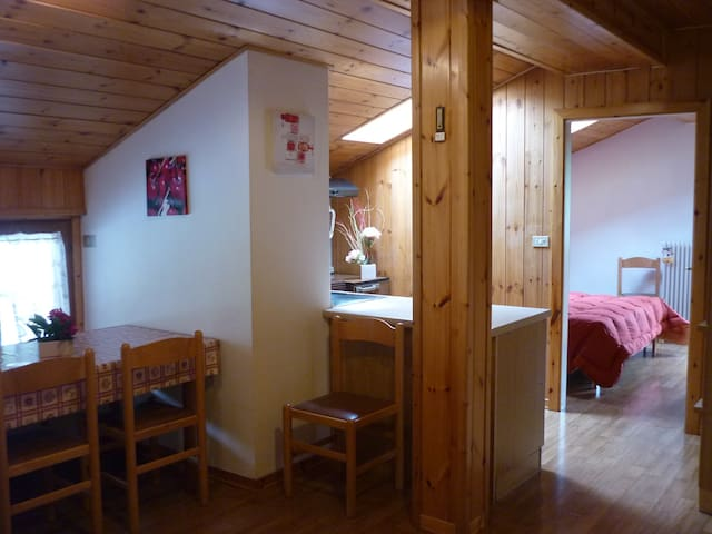 Mansard to live - Pozza di Fassa - Apartment