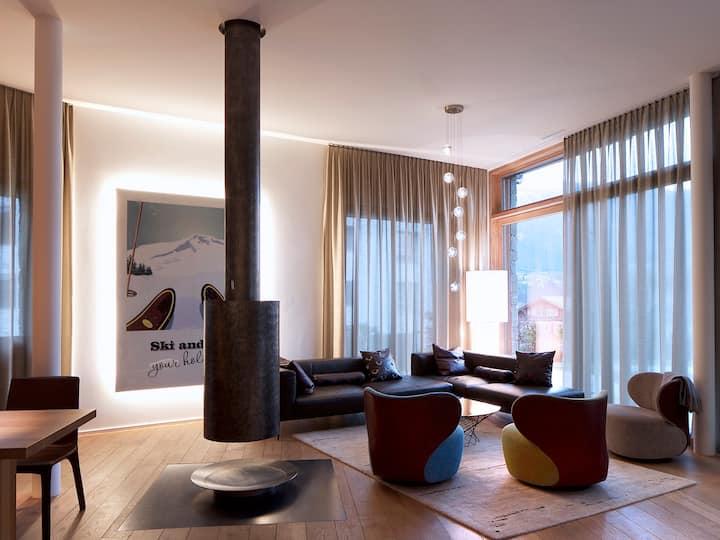 x_Edelweiss Ferienwohnung, Mountain Suites, Whg 03-02, (Flims Waldhaus), 6001, 5.5 Zimmerwohnung
