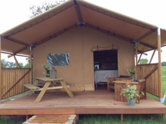Camping De Stjelp - Oudega Gem Smallingerlnd - Tält