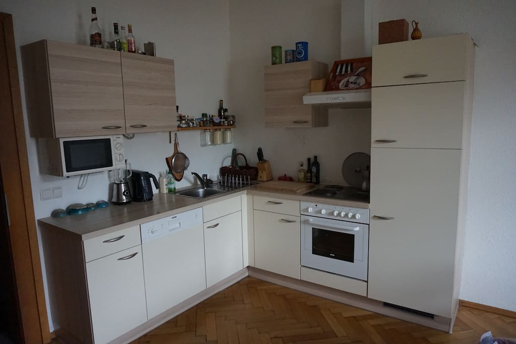 Fully equipped kitchen (includes dish washer)