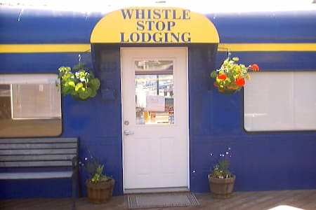Whistle Stop Lodging-in boat harbor