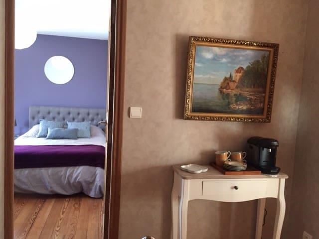Chambre pour 3 per. à 10 min du Mont Saint Michel