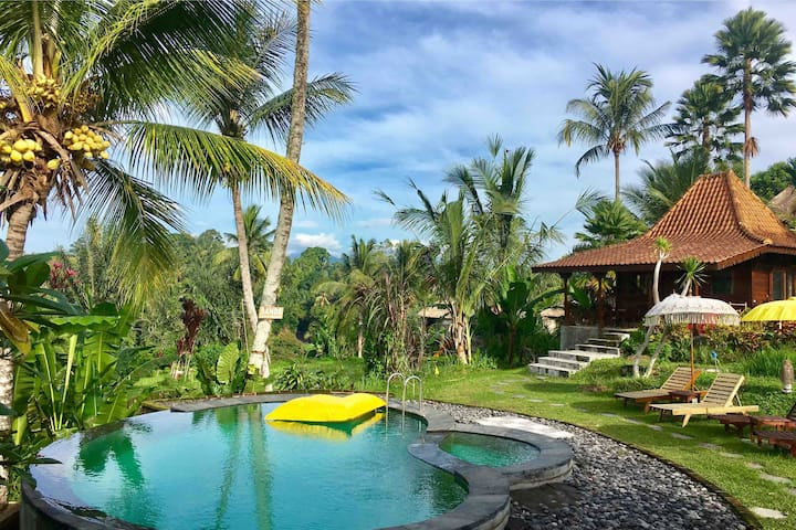 Refreshing SANDE SebatuCottage Ubud, Bali