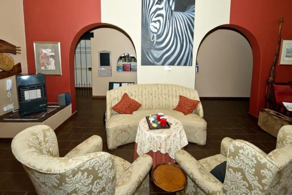 Lounge and reception areas