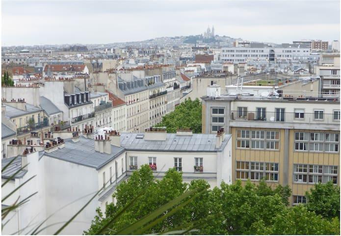 Vue panoramique - Bastille (11ème) - Paris - Apartemen