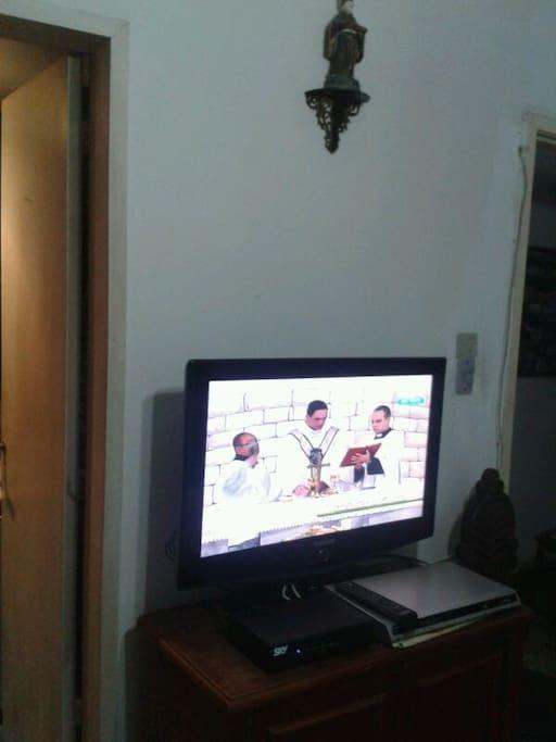 TV a cabo na suíte