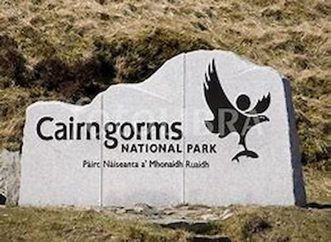 Drumurnie is within Cairngorm National Park