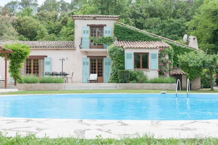 Charming, beautyful provencal Villa - Le Thoronet - Huvila