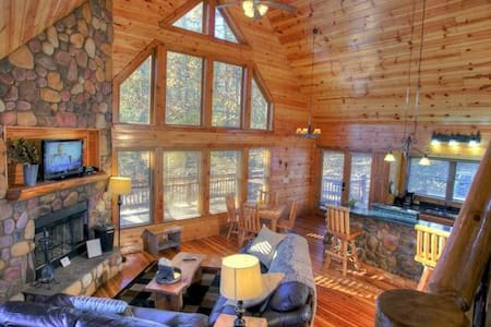 Inviting Cabin with a Hot Tub and Firepit - Cleveland - Egyéb
