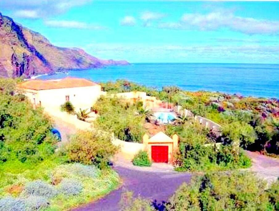 the rural little resort