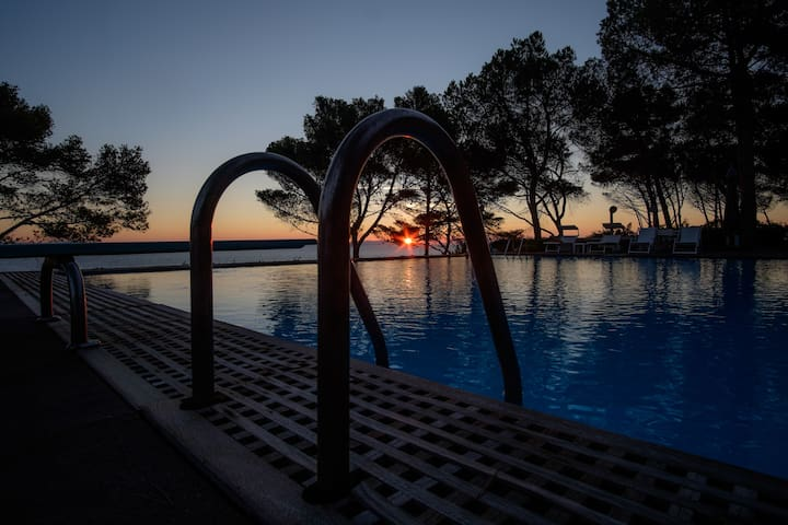 Villino rosa con piscina/Isola d'Elba