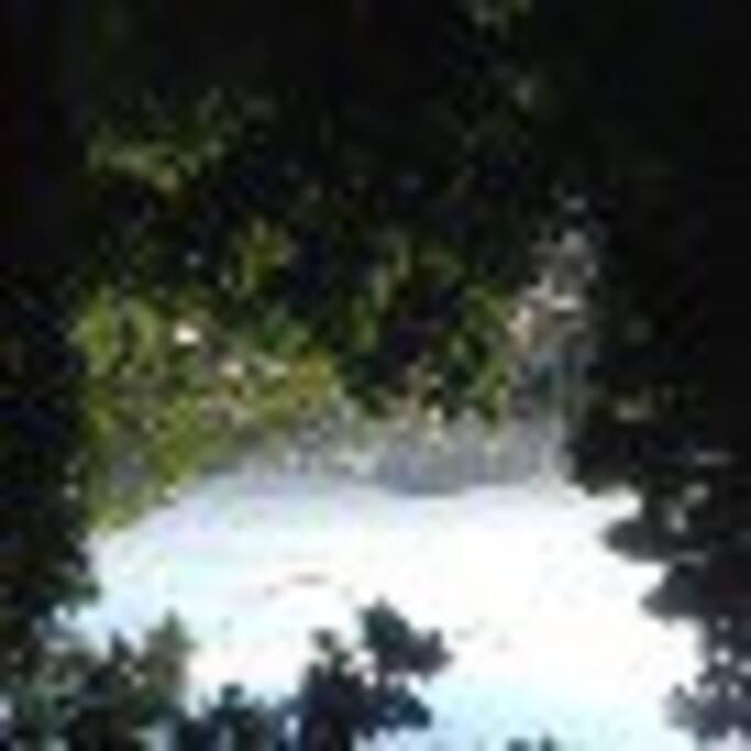 Vista da janela do quarto de casal