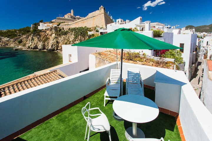 Virgen House with Terrace - Ibiza