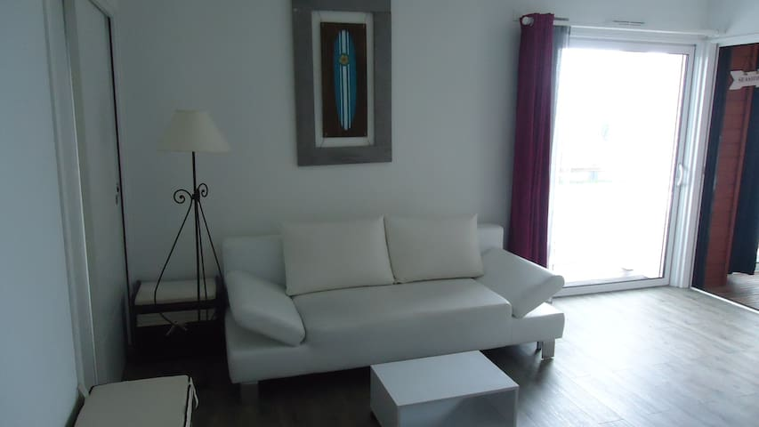 Beautiful apartment 200 meters from - Saint-Julien-en-Born - Apartament