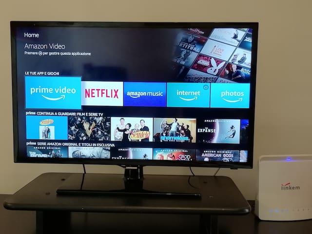 Smart TV connessione wireless