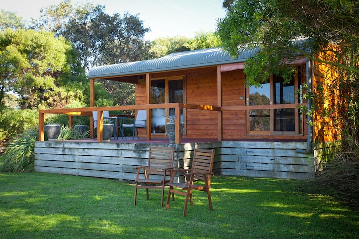 Deluxe Spa Cabins, Wilsons Promontory - Wilson Promontory - Chalet